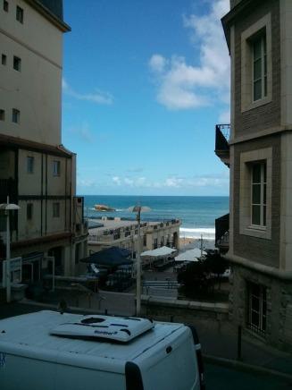 Biarritz ocean view