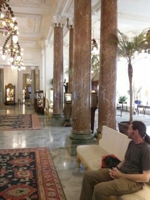 Hotel du Palais foyer