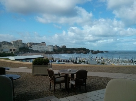 Terrace in Biarritz
